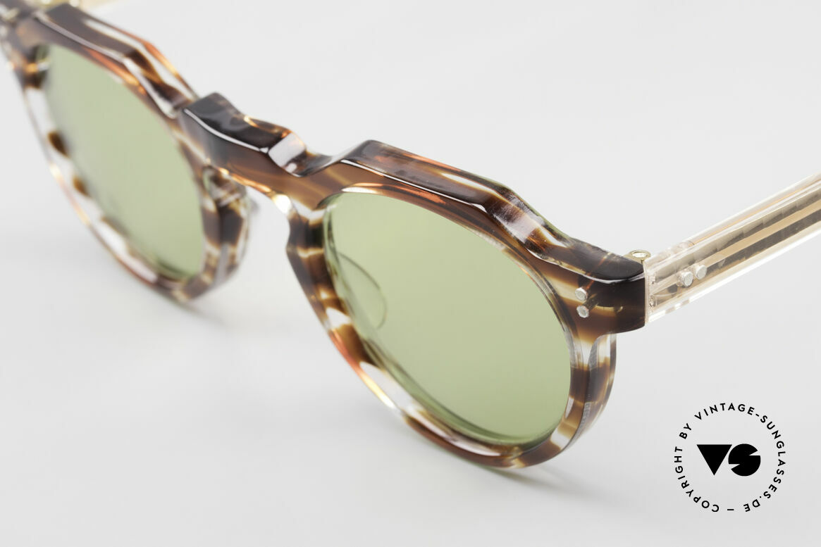 Lesca Panto 6mm Antique 1960's Sunglasses, it's a model for real VINTAGE experts / connoisseurs, Made for Men and Women