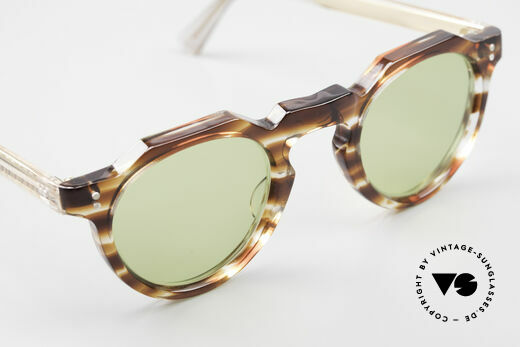 Lesca Panto 6mm Antique 1960's Sunglasses, the frame can be glazed with prescription lenses, too, Made for Men and Women