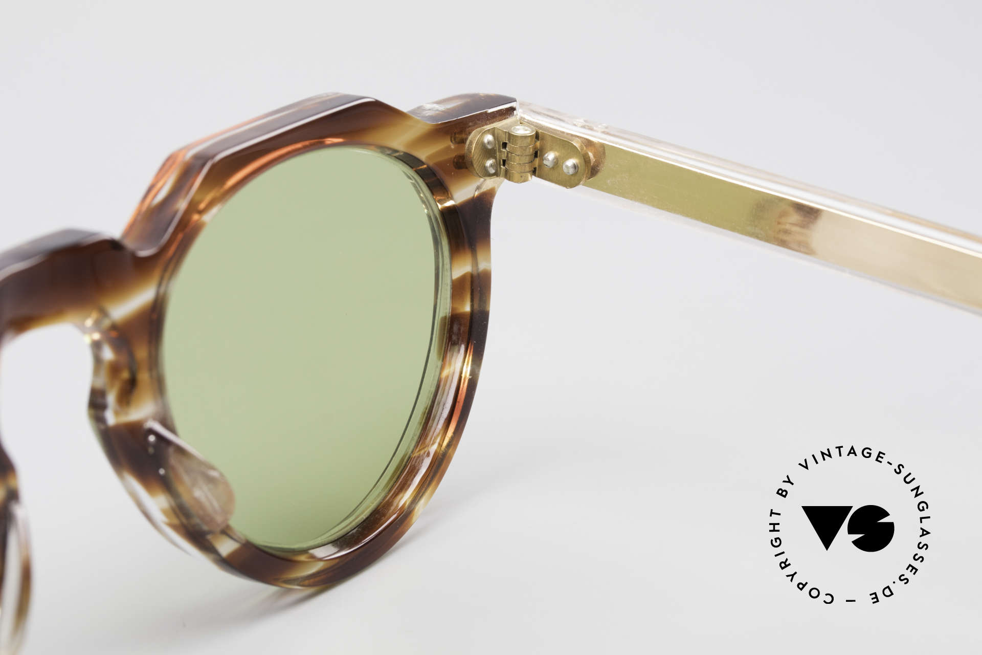 Lesca Panto 6mm Antique 1960's Sunglasses, Size: small, Made for Men and Women