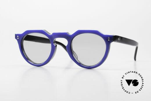 Lesca Panto 6mm 60's France Sunglasses Panto Details