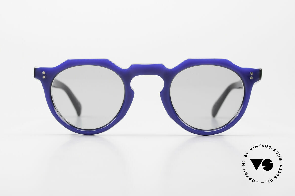 Lesca Panto 6mm 60's France Sunglasses Panto, very massive frame (6mm thick profil); built to last!, Made for Men