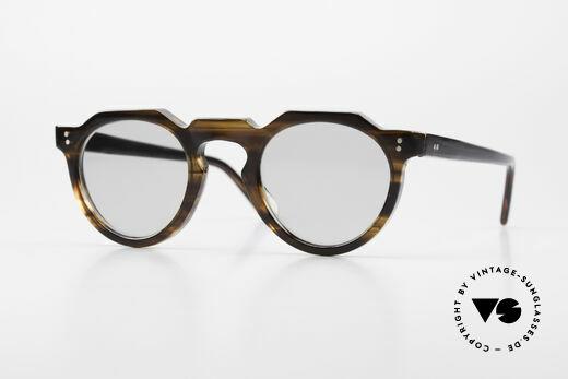 Lesca Panto 6mm 60's Frame Panto Sunglasses Details
