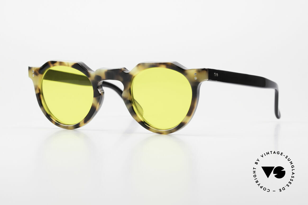 Lesca Panto 6mm 60's Panto Sunglasses France, old LESCA sunglasses, PANTO style, from the 1960's, Made for Men and Women