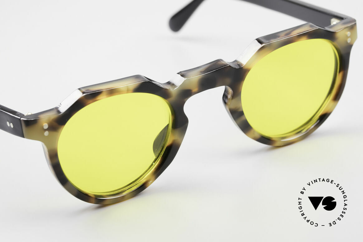 Lesca Panto 6mm 60's Panto Sunglasses France, an UNWORN 50 years old original, NO RETRO FRAME, Made for Men and Women
