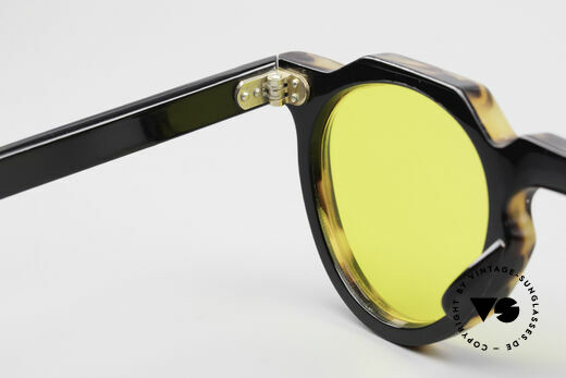Lesca Panto 6mm 60's Panto Sunglasses France, NOT the CURRENT Lesca collection; it's really OLD!!, Made for Men and Women