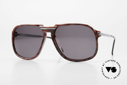 Dunhill 6005 Rare Old Men's Sunglasses 1984 Details