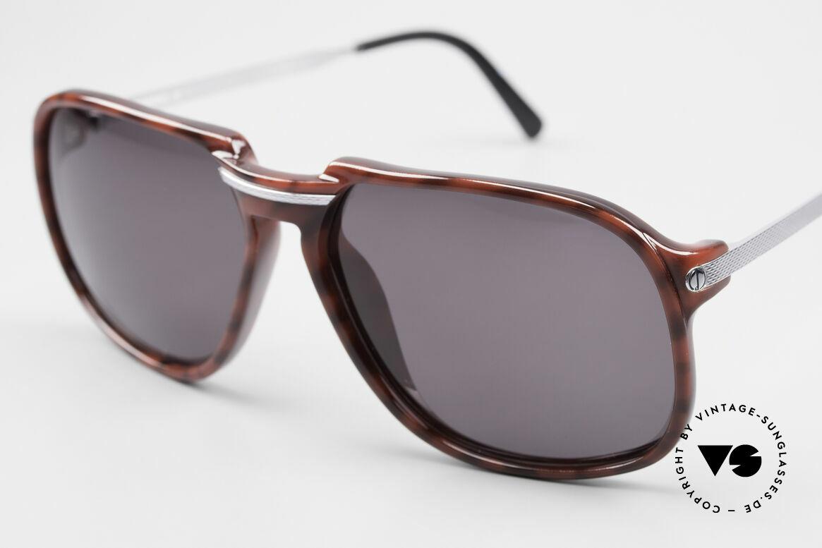 Dunhill 6005 Rare Old Men's Sunglasses 1984, the spearhead of quality and elegance; true vintage, Made for Men