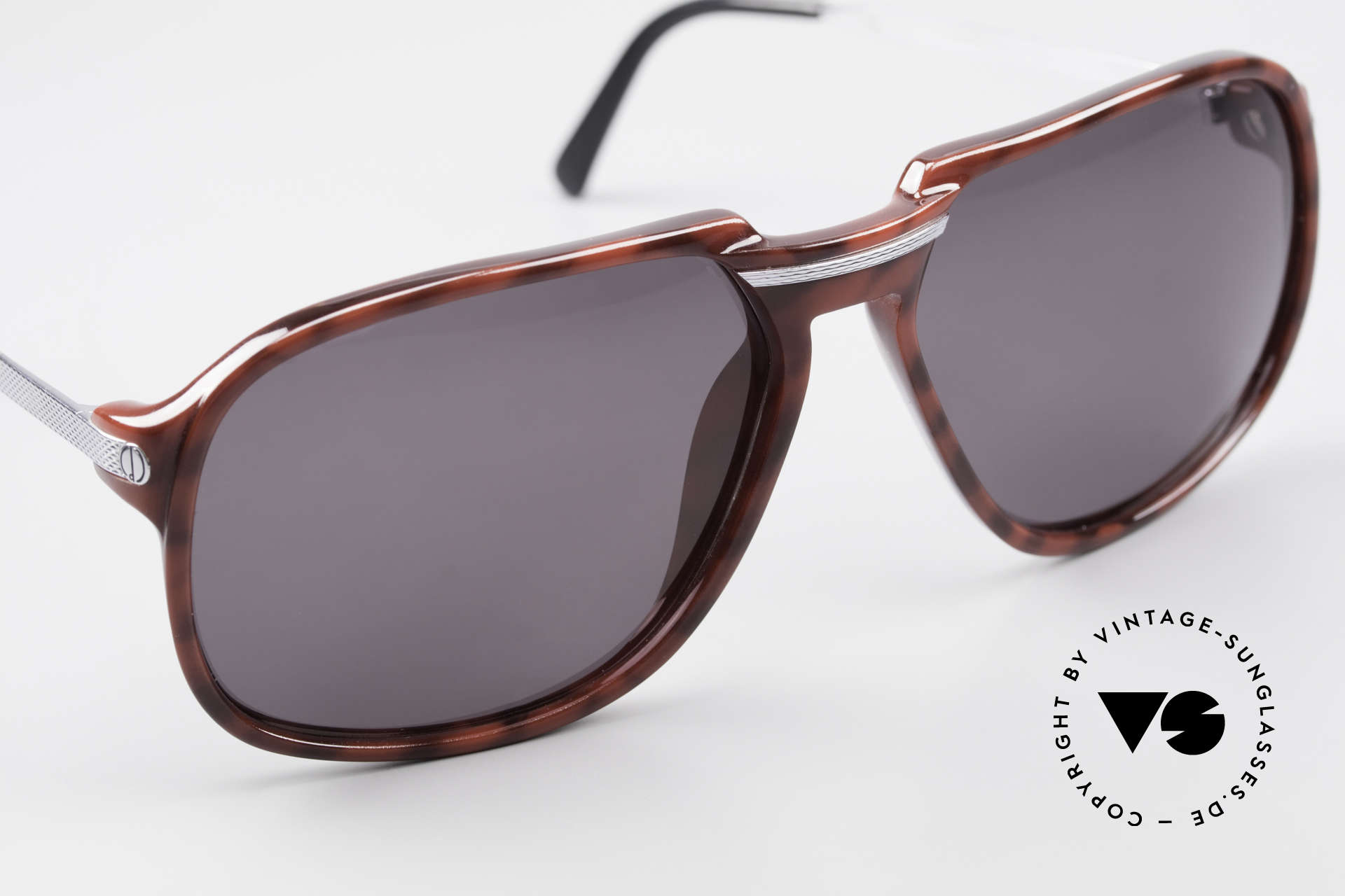 Dunhill 6005 Rare Old Men's Sunglasses 1984, new old stock (like all our vintage Dunhill shades), Made for Men
