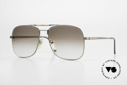 Dunhill 6038 18kt Gold Titanium 80s Frame Details
