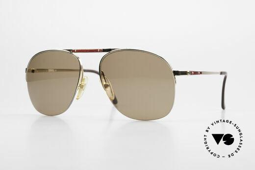 Dunhill 6022 80's Gentlemen's Sunglasses Details