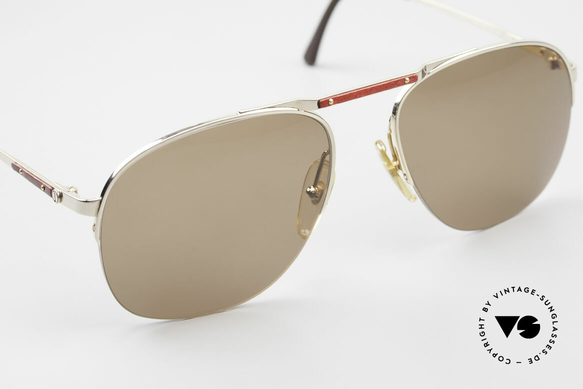 Dunhill 6022 80's Gentlemen's Sunglasses, new old stock (like all our vintage Dunhill sunglases), Made for Men