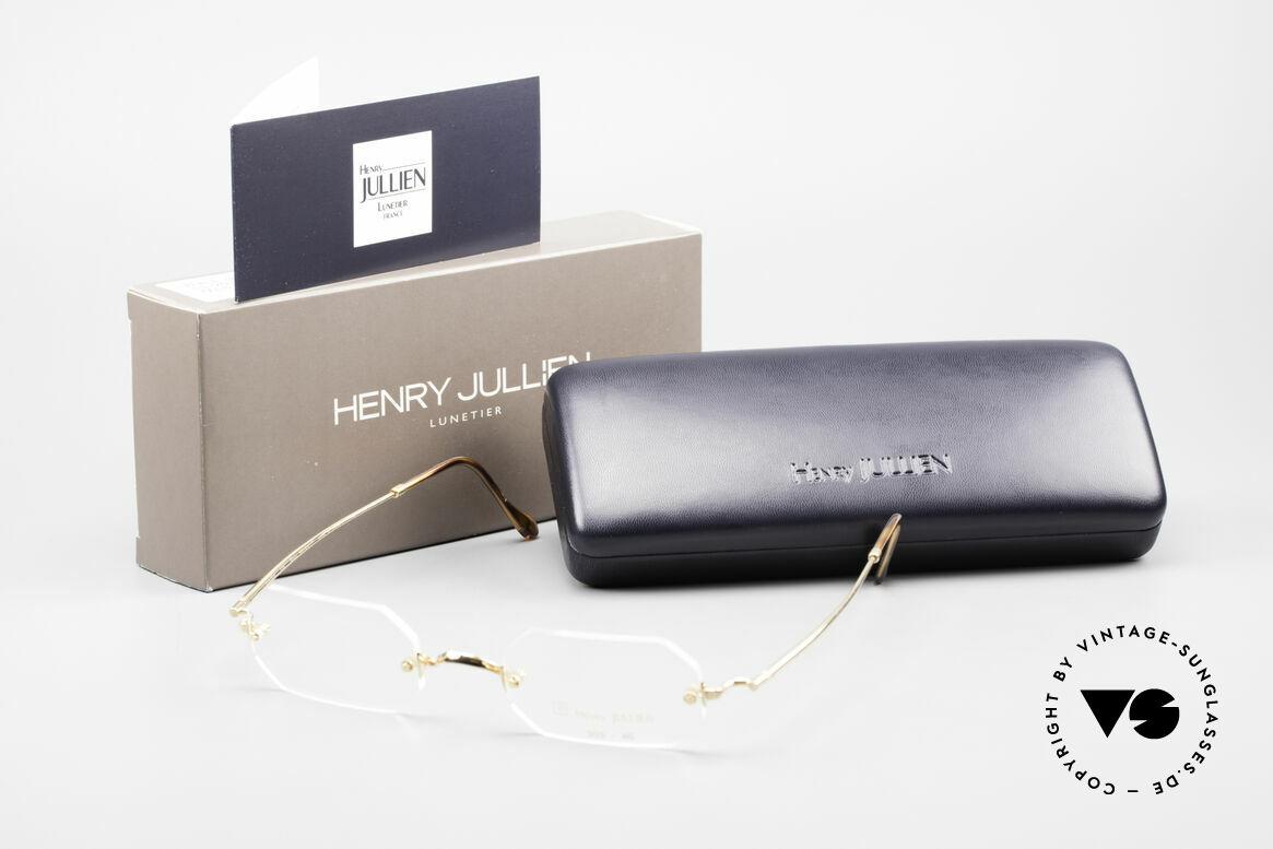 Henry Jullien Paraphe 303 Octagonal Rimless Frame, Size: medium, Made for Men and Women