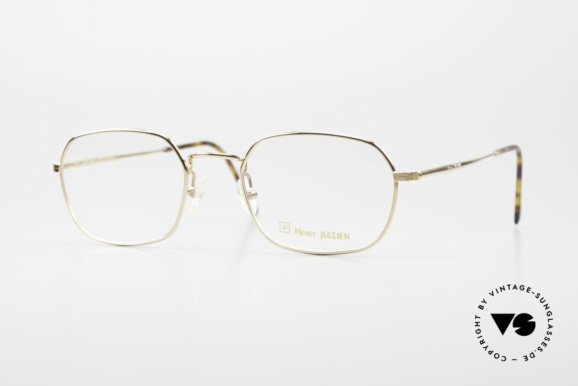 Henry Jullien Reale 05 Gold Plated Vintage Frame, Henry Jullien vintage eyeglass-frame from 2008/09, Made for Men and Women