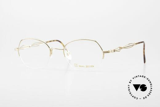 Henry Jullien Ellipse 12 Gold Doublé Ladies Glasses Details