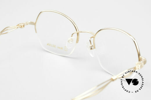 Henry Jullien Ellipse 12 Gold Doublé Ladies Glasses, Size: small, Made for Women