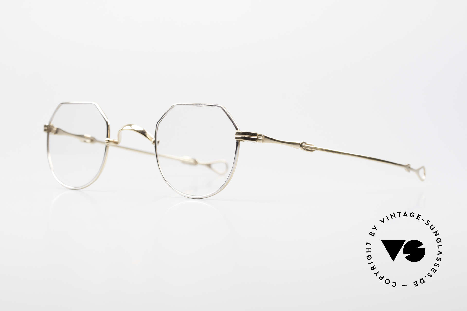 Lunor I 18 Telescopic Glasses With Telescopic Arms, this mechanism made the brand Lunor world-famous, Made for Men and Women