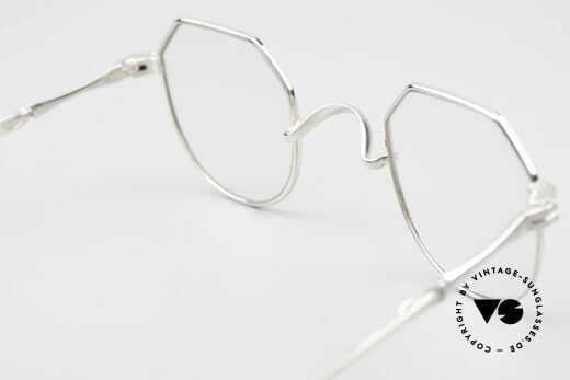"""Lunor I 18 Telescopic Telescopic Platinum Frame, the """"I18"""" design is extremely rare; collector's item!, Made for Men and Women"""