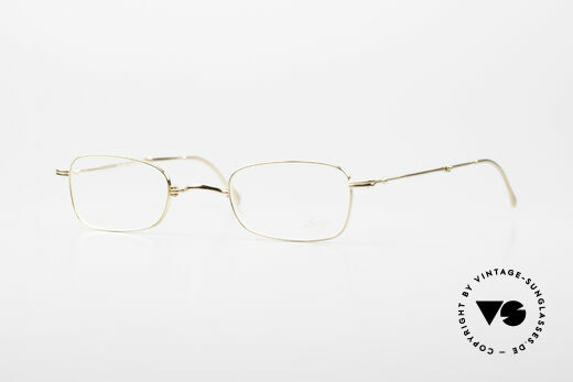 Lunor XXV Folding 02 Foldable Frame Gold Plated Details