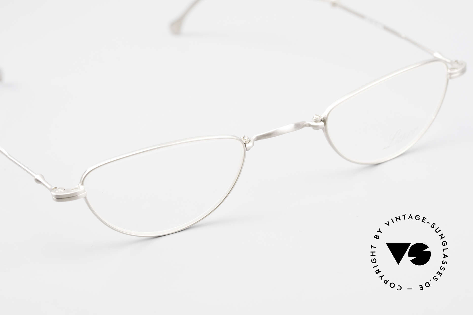 Lunor XXV Folding 06 Foldable Reading Eyeglasses, unworn single item (for all lovers of quality), true rarity!, Made for Men and Women