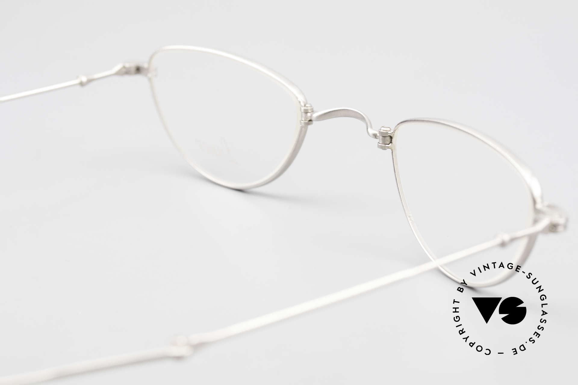 Lunor XXV Folding 06 Foldable Reading Eyeglasses, NO RETRO EYEGLASSES, but a precious LUNOR ORIGINAL, Made for Men and Women