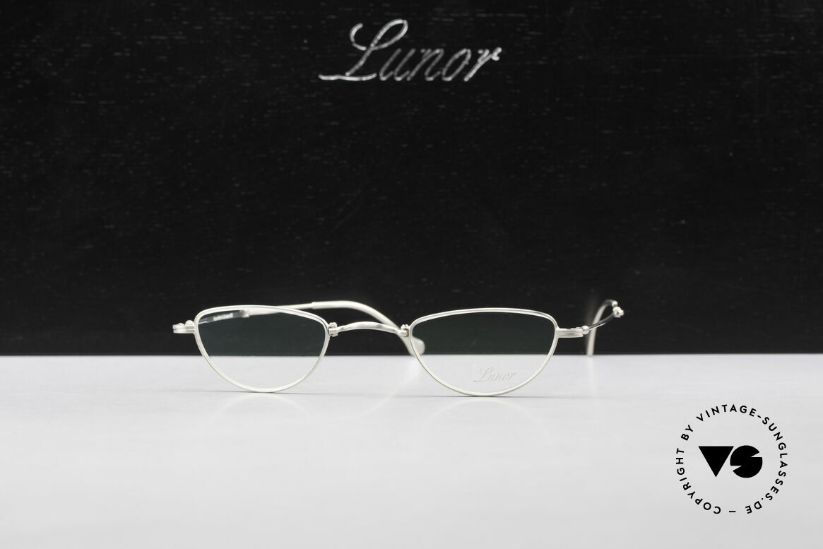 Lunor XXV Folding 06 Foldable Reading Eyeglasses, Size: small, Made for Men and Women
