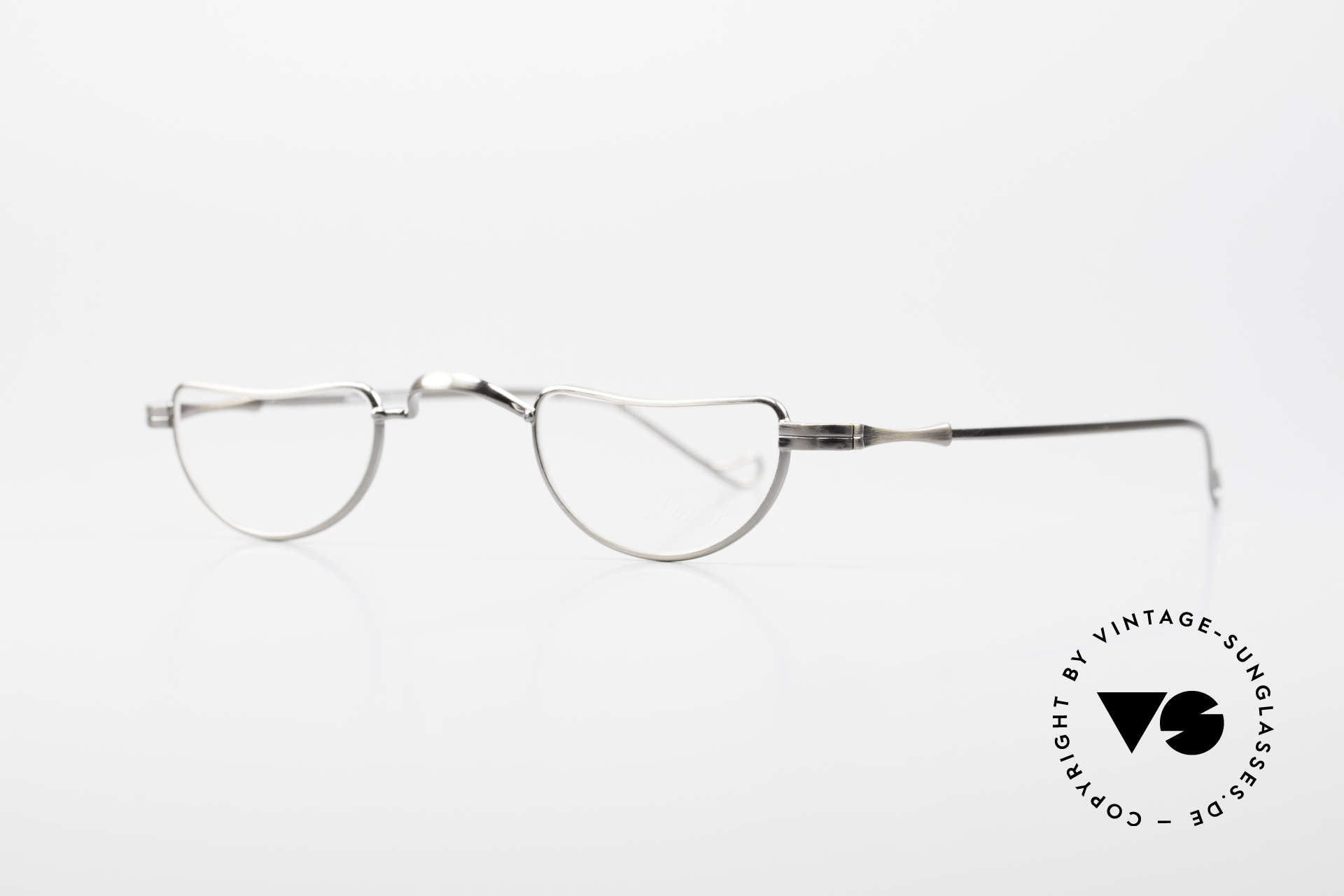 Lunor II 07 Classic Reading Eyeglasses, unisex model for ladies & gents; handmade in Germany, Made for Men and Women