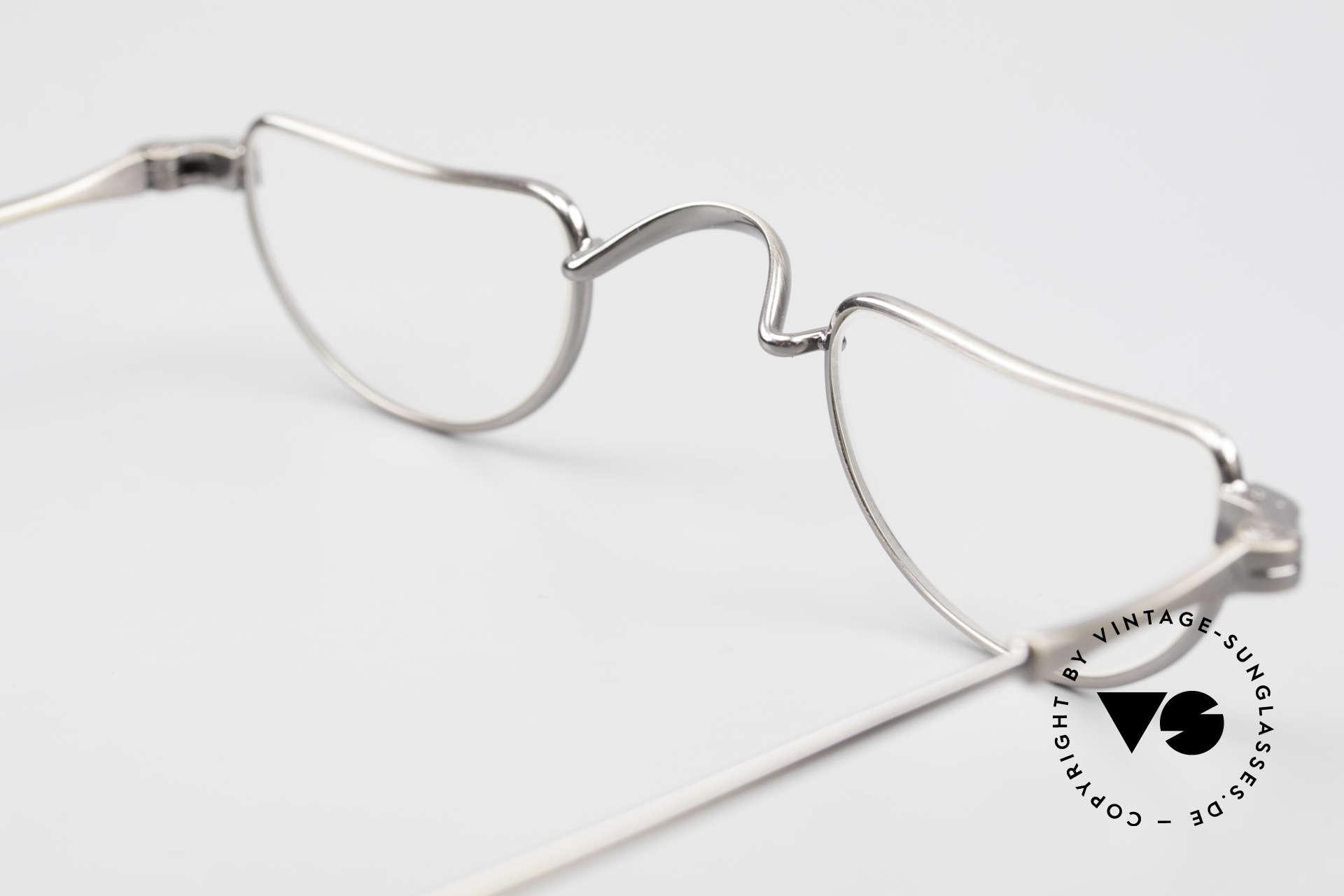 Lunor II 07 Classic Reading Eyeglasses, NO RETRO EYEGLASSES; but a luxury vintage Original, Made for Men and Women
