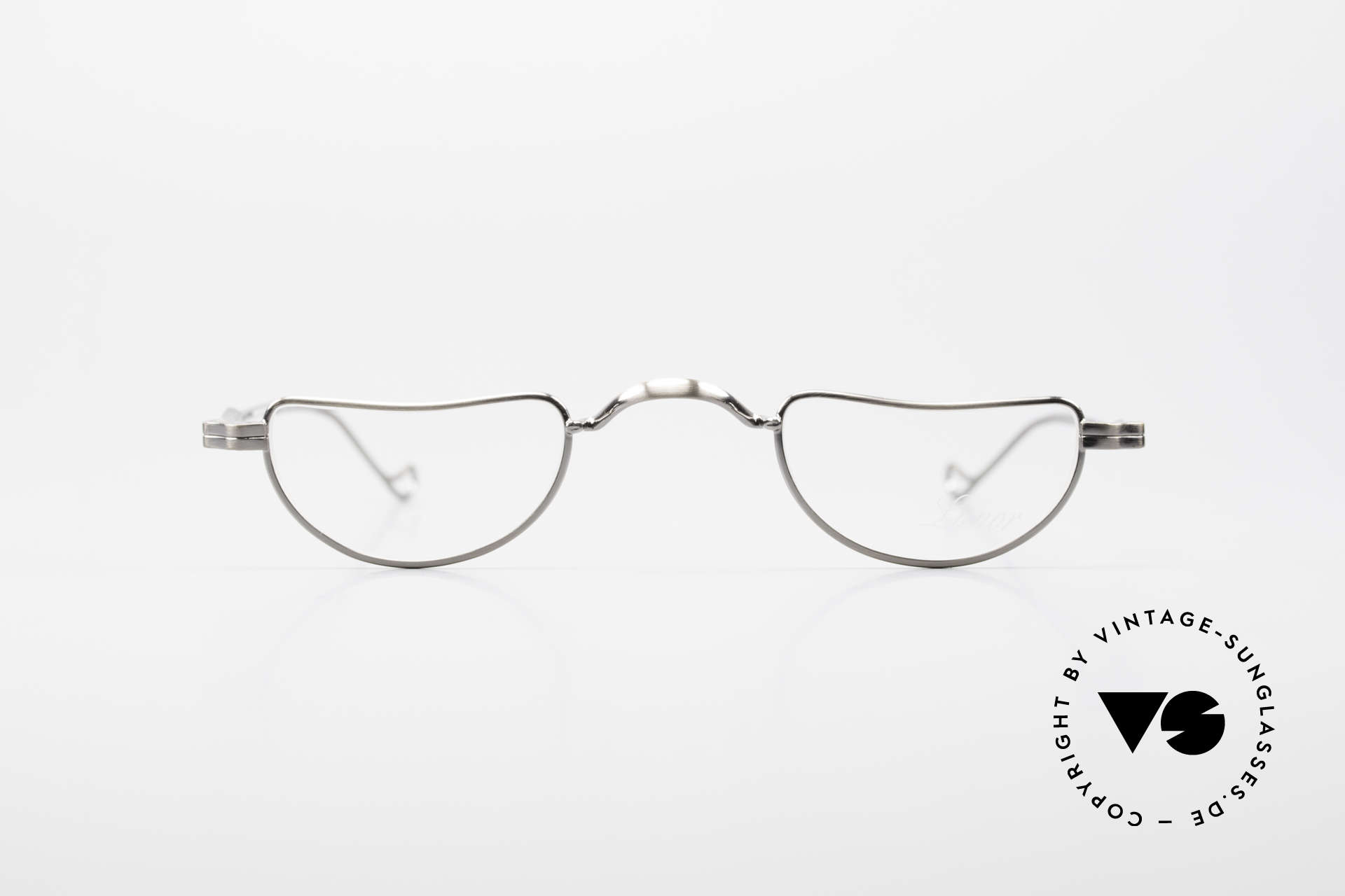"""Lunor II 07 Classic Reading Eyeglasses, model """"07"""" = the classic reading design in size 39/25, Made for Men and Women"""