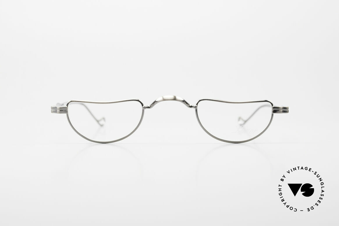 Lunor II 07 Classic Reading Eyeglasses, Lunor reading eyeglass-frame with anatomical bridge, Made for Men and Women