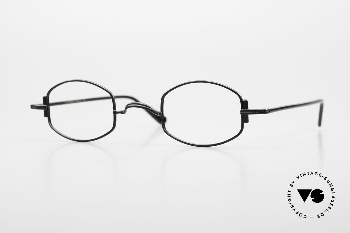 "Lunor XA 03 Rare Old Eyewear Classic, minimalist Lunor eyeglass-frame of the Lunor ""X""-Series, Made for Men and Women"