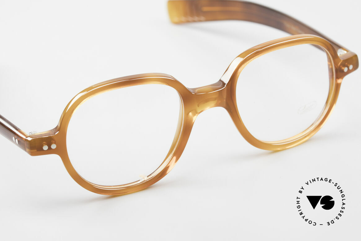 Lunor A50 Round Panto Acetate Glasses, unworn (like all our beautiful Lunor frames & sunglasses), Made for Men and Women