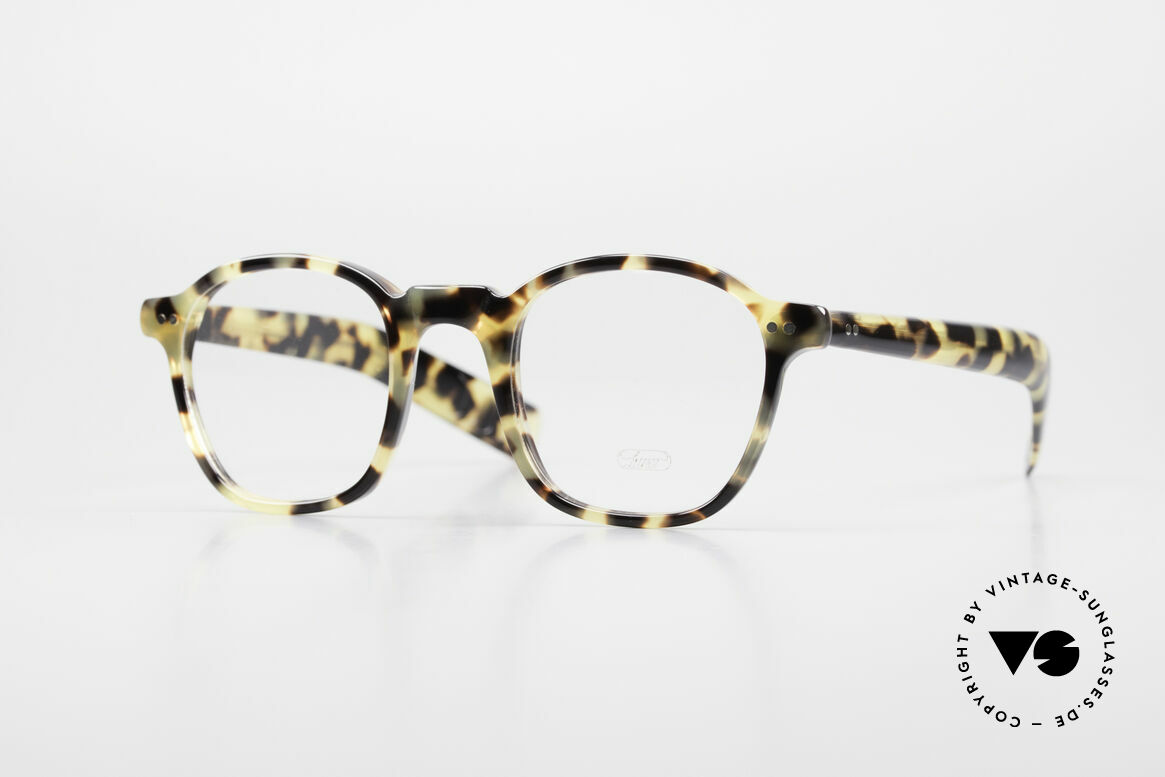 Lunor A51 Johnny Depp James Dean Specs, rare LUNOR glasses, model 51 from the Acetate collection, Made for Men