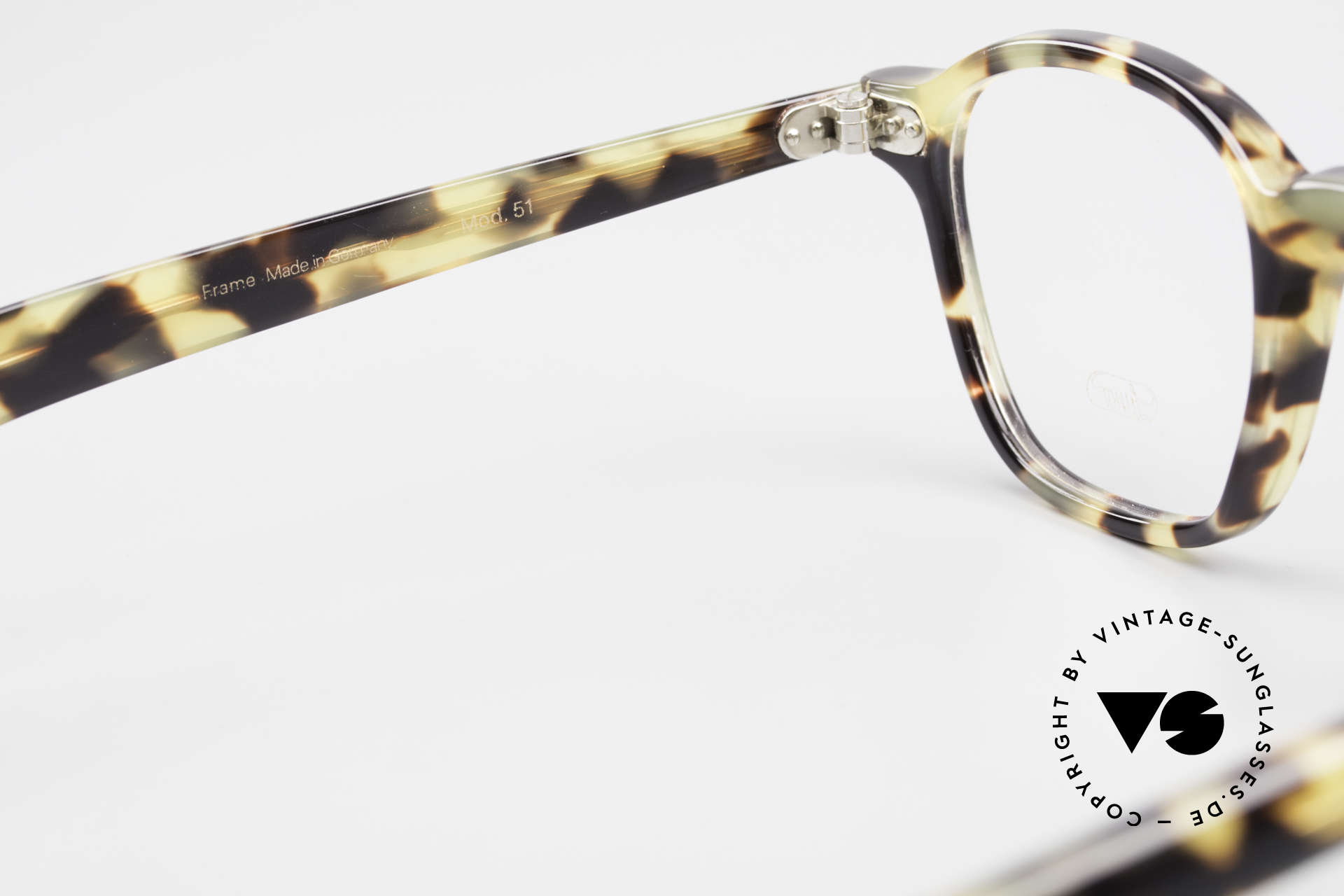 Lunor A51 Johnny Depp James Dean Specs, the demo lenses can be replaced with optical (sun) lenses, Made for Men