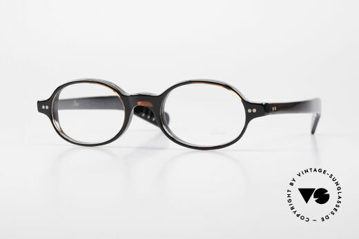 Lunor A57 Oval Lunor Acetate Glasses Details