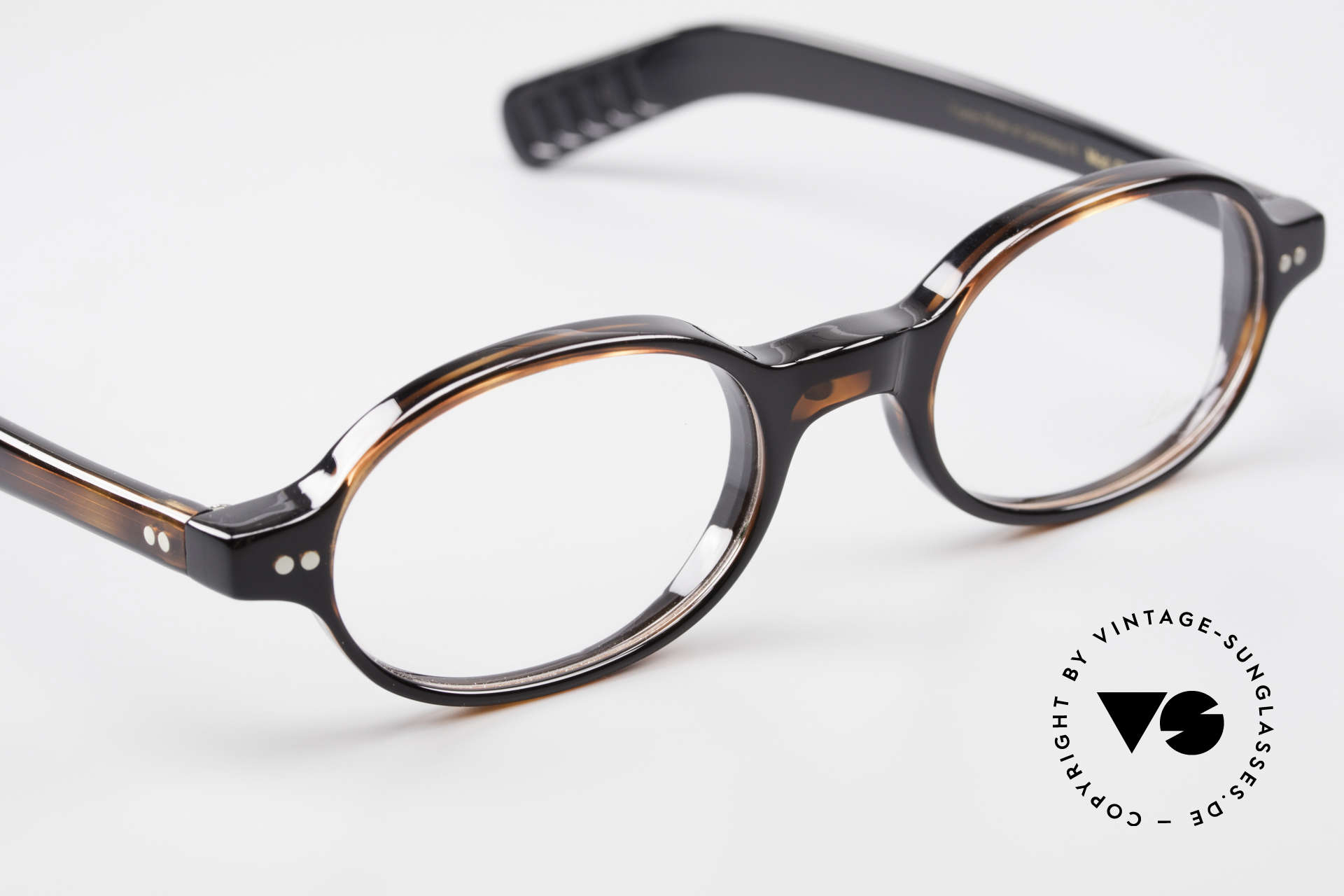 Lunor A57 Oval Lunor Acetate Glasses, unworn (like all our beautiful Lunor frames & sunglasses), Made for Men and Women