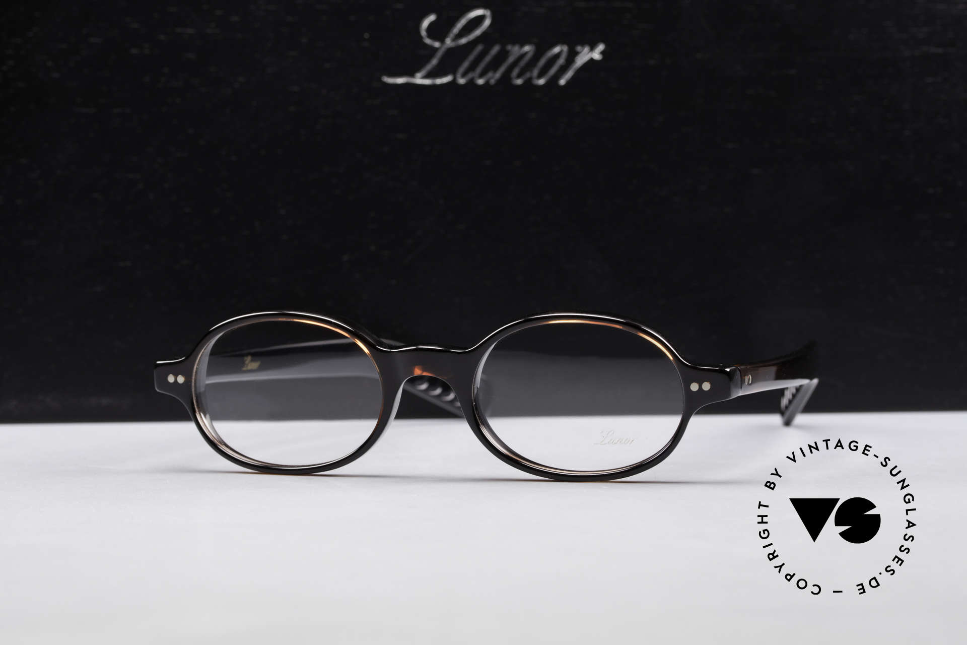 Lunor A57 Oval Lunor Acetate Glasses, Size: medium, Made for Men and Women