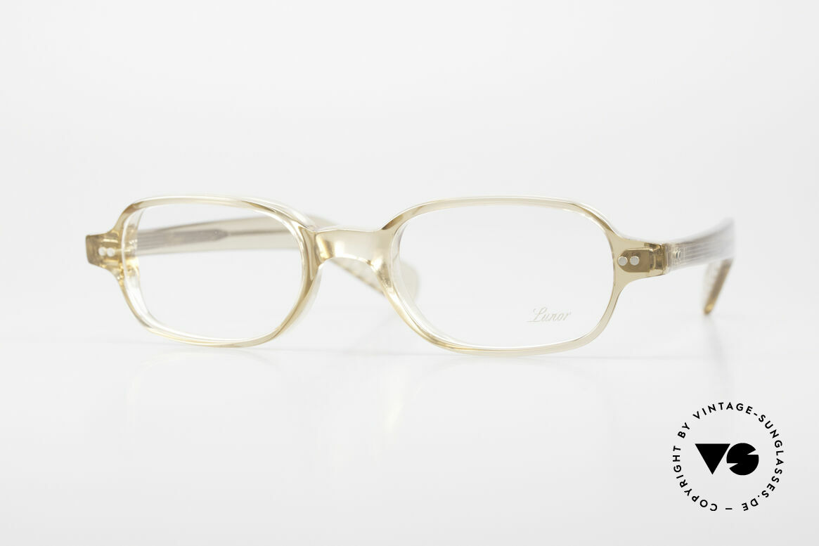 Lunor A56 Classic Lunor Acetate Glasses, A 56: classic Lunor glasses from the Acetate collection, Made for Men and Women