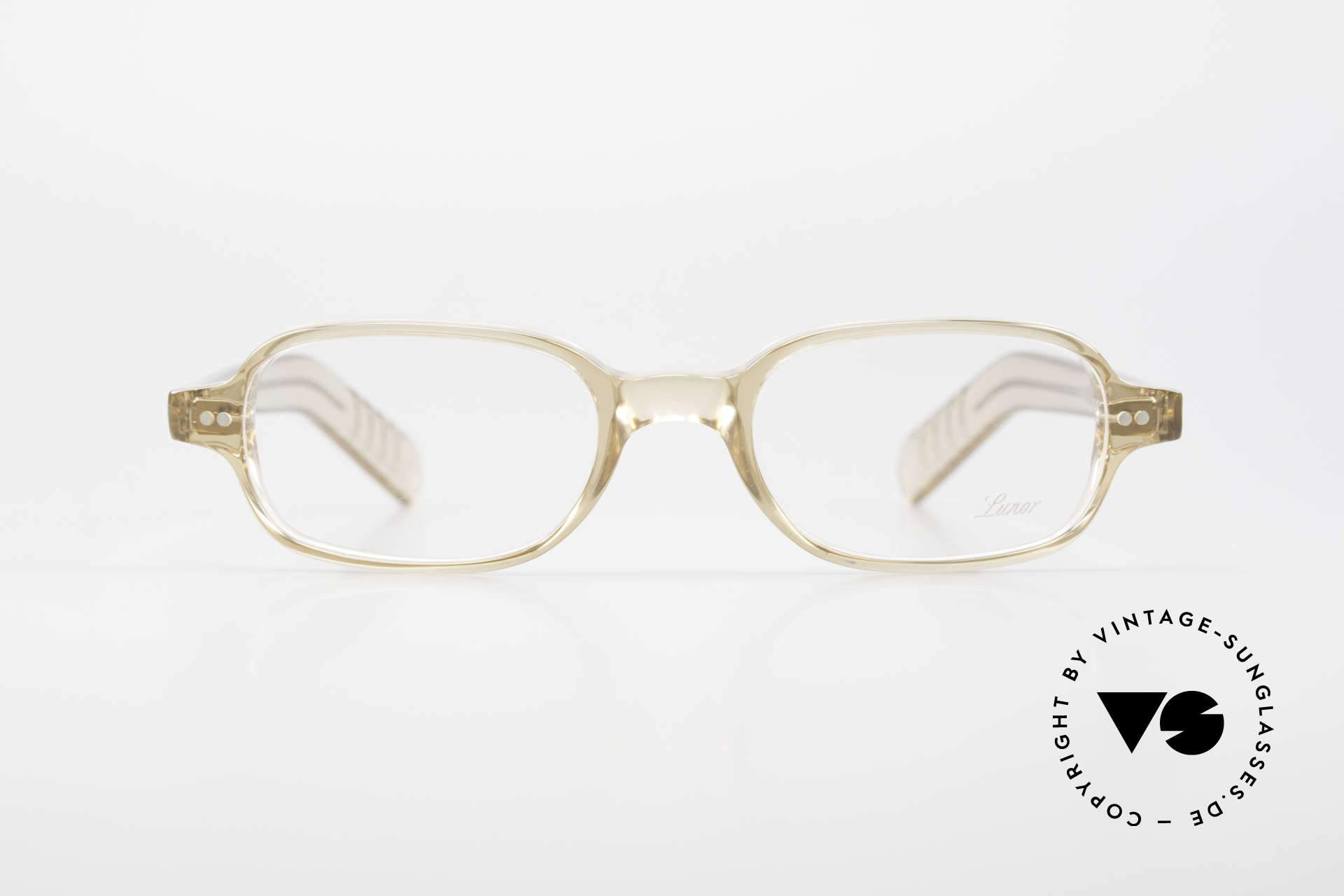 Lunor A56 Classic Lunor Acetate Glasses, riveted hinges; cut precise to the tenth of a millimeter, Made for Men and Women