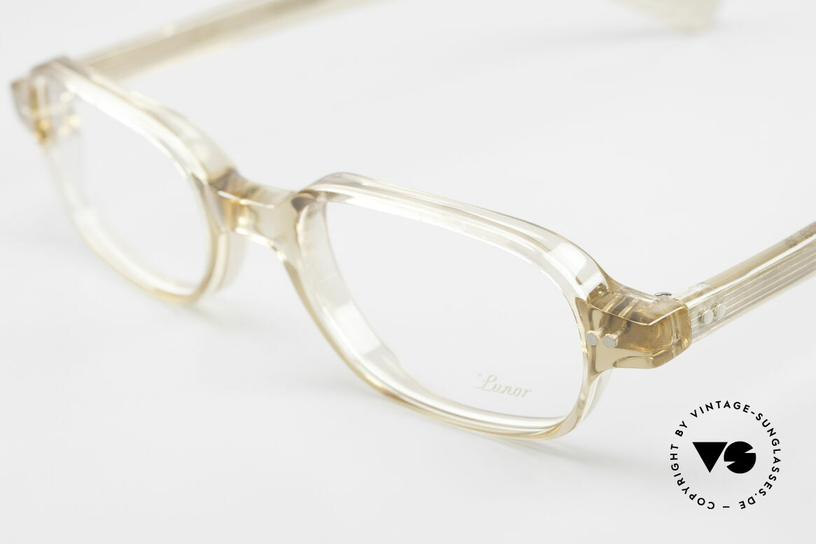 Lunor A56 Classic Lunor Acetate Glasses, 100% made in Germany & hand-polished (a masterpiece), Made for Men and Women