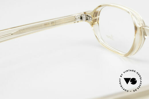 Lunor A56 Classic Lunor Acetate Glasses, the demo lenses can be replaced with optical (sun) lenses, Made for Men and Women