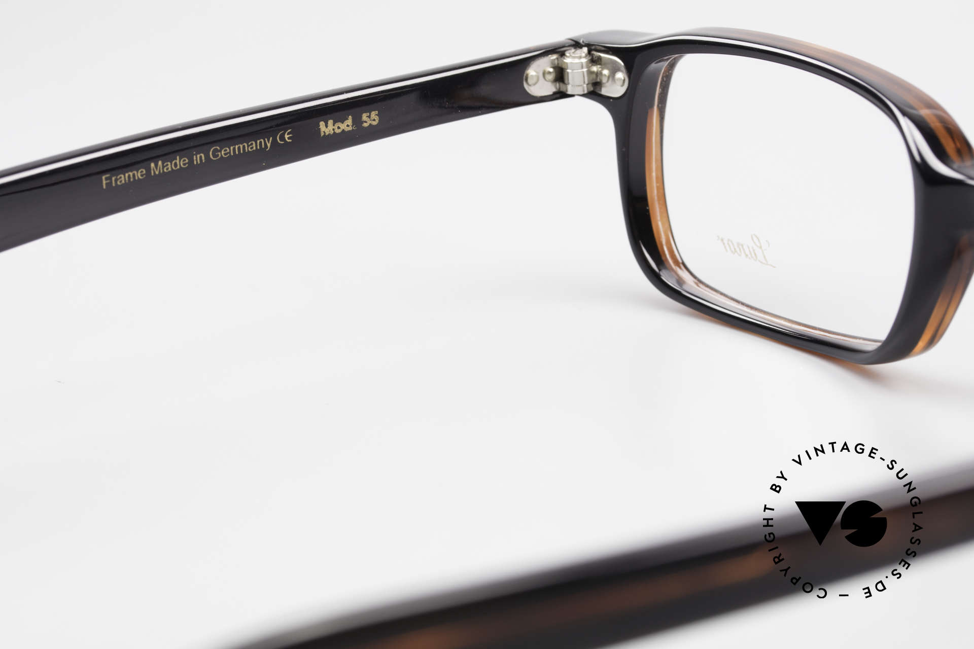 Lunor A55 Square Lunor Glasses Acetate, the demo lenses can be replaced with optical (sun) lenses, Made for Men and Women