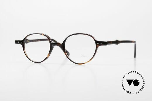Lunor A43 Panto Acetate Eyeglass-Frame Details