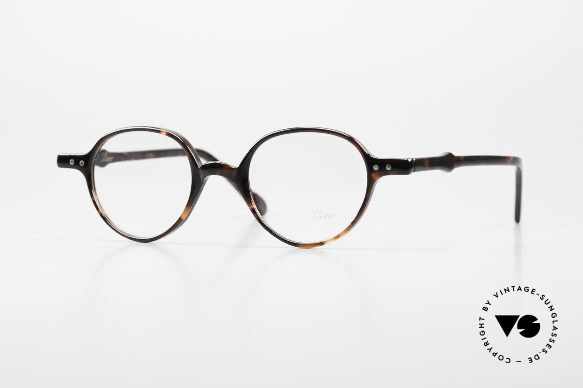 Lunor A43 Panto Acetate Eyeglass-Frame, LUNOR glasses, model 43 from the Acetate collection, Made for Men and Women