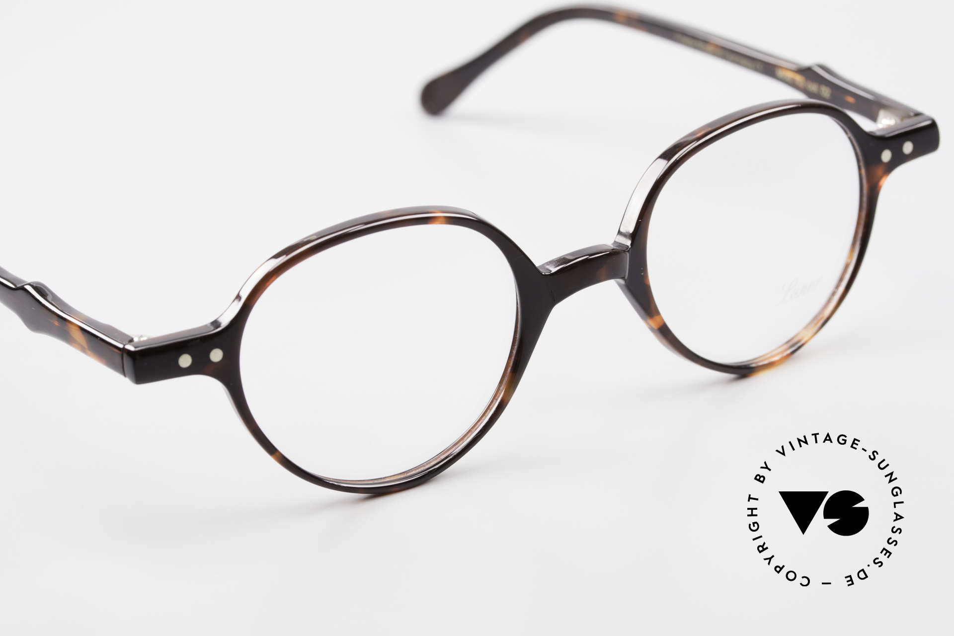 Lunor A43 Panto Acetate Eyeglass-Frame, unworn (like all our vintage Lunor frames & sunglasses), Made for Men and Women