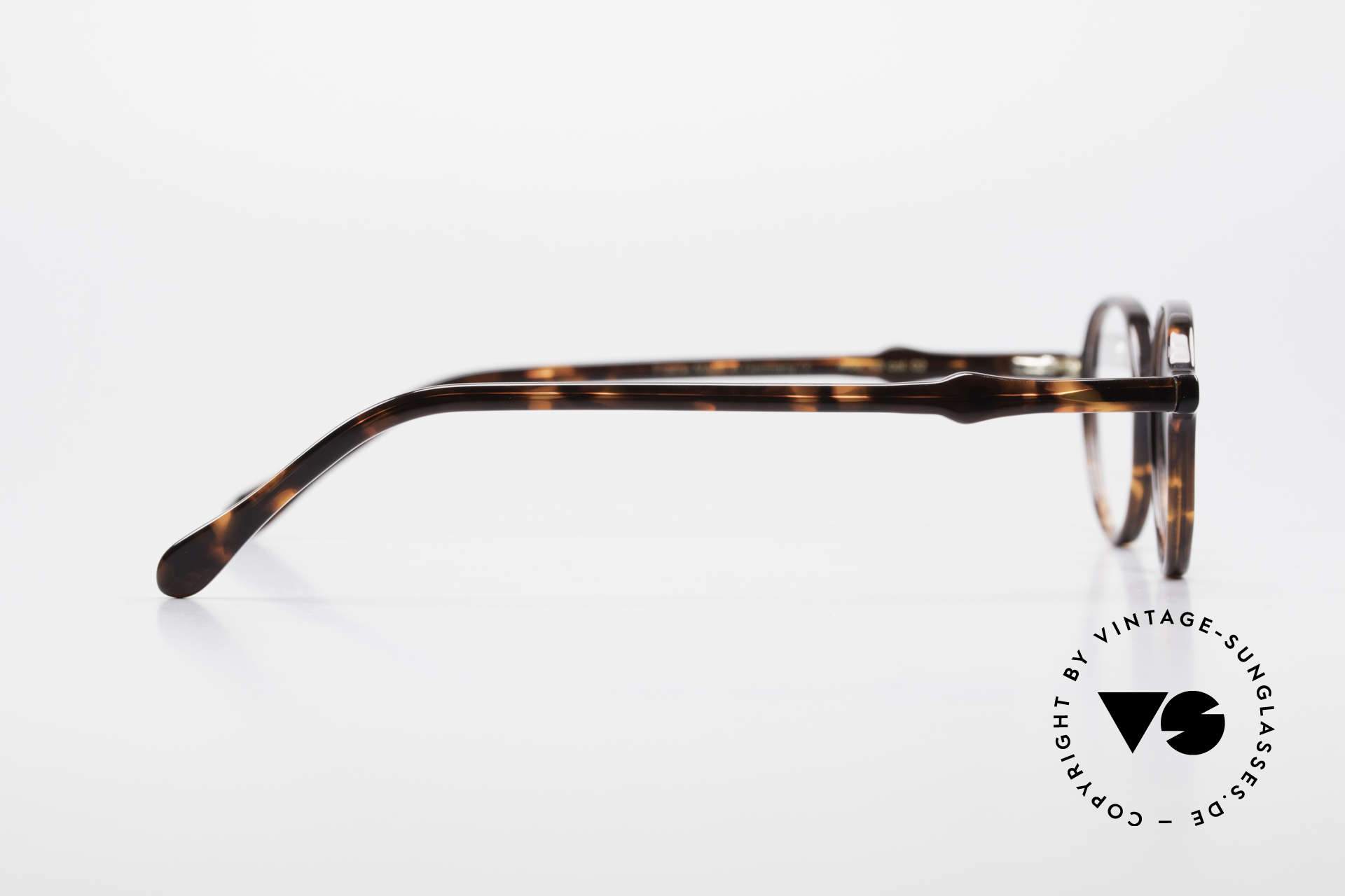 Lunor A43 Panto Acetate Eyeglass-Frame, Size: small, Made for Men and Women