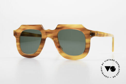 Lesca Classic 4mm 50 Years Old Sunglasses Details