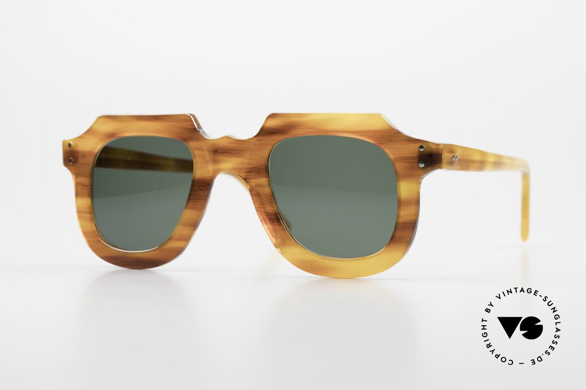Lesca Classic 4mm 50 Years Old Sunglasses, old LESCA sunglasses, Classic style, from the 1960's, Made for Men