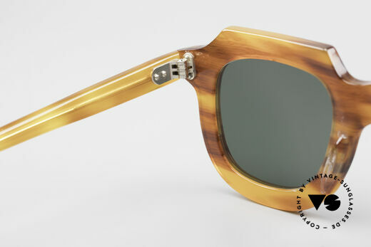 Lesca Classic 4mm 50 Years Old Sunglasses, NOT the current Lesca collection; it's really OLD!!!, Made for Men