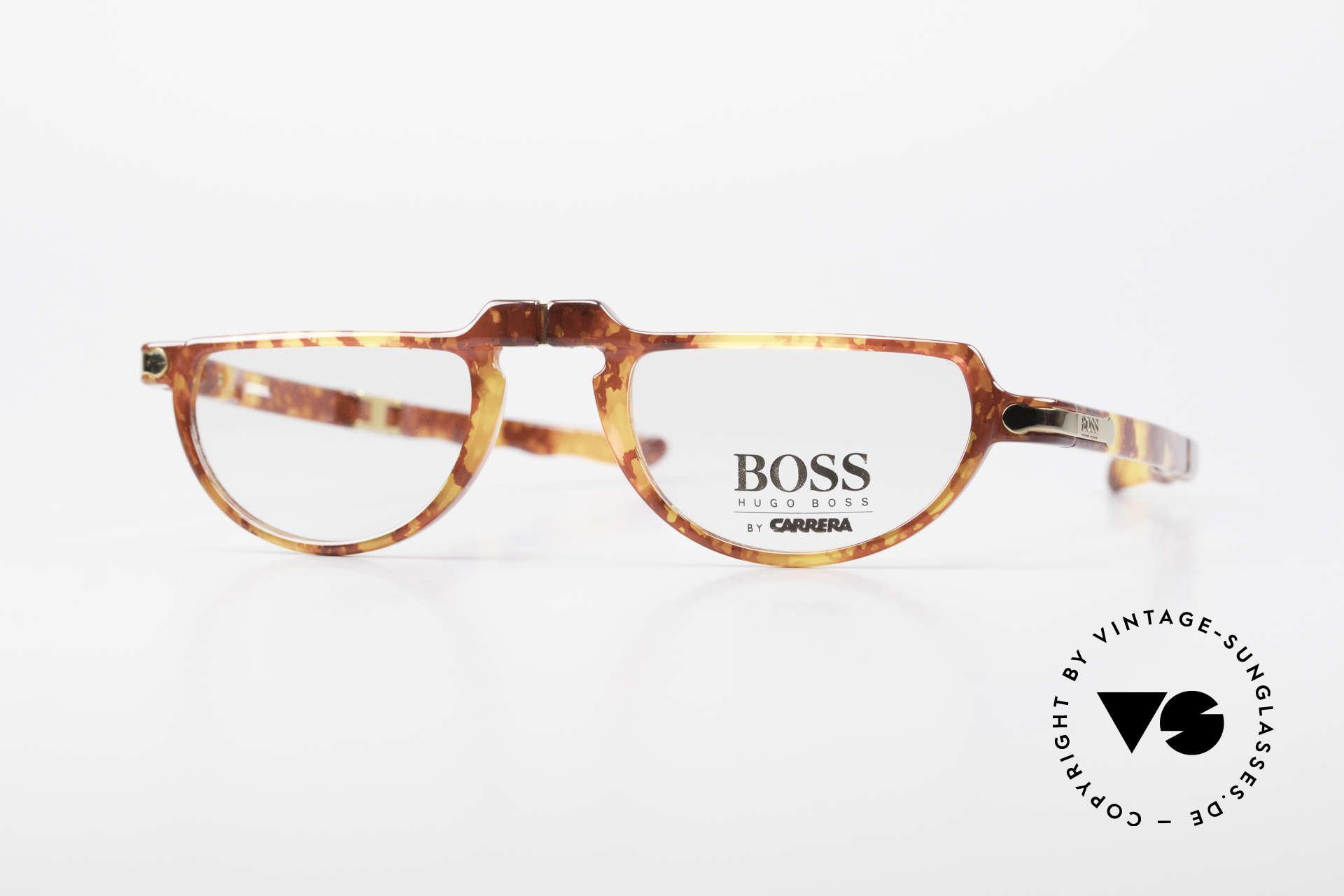 BOSS 5103 90's Folding Reading Glasses, brilliant BOSS vintage folding eyeglasses from 1993, Made for Men and Women