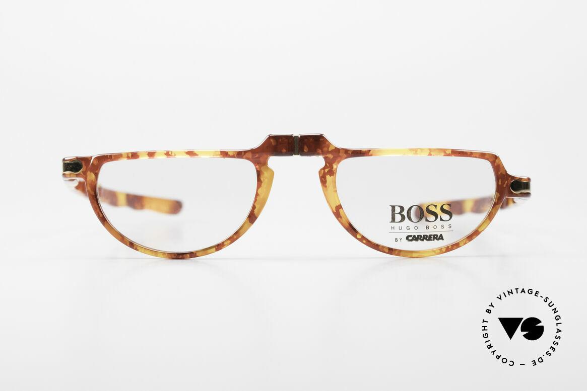 BOSS 5103 90's Folding Reading Glasses, full name: Hugo Boss by Carrera 5103, 13, 49-21, 145, Made for Men and Women